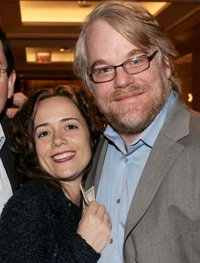 philip seymour hoffman's longtime girlfriend pregnant