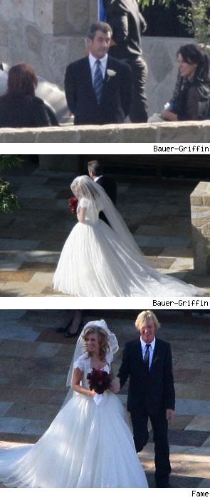 mel gibson wedding