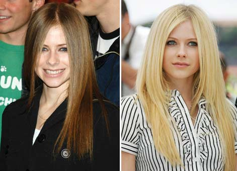 avril lavigne no makeup. It looks like Avril Lavigne is