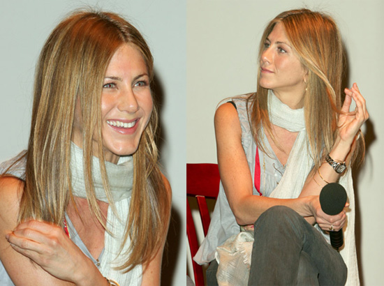 long hairstyles and dazzling golden layers. Jennifer Aniston Haircut