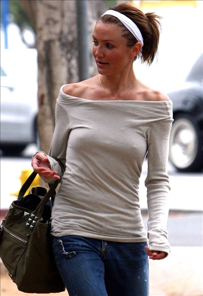 cameron diaz nipple