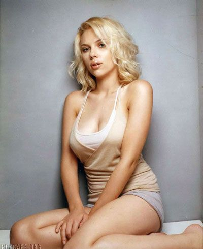 "scarlett-johansson-quote-5-14-07.jpg. ""I look at a guy and think he has such ..."