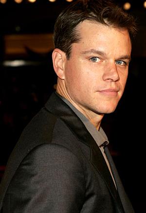 Matt Damon Hair