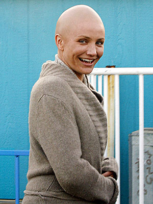 cameron diaz hair. There#39;s Cameron Diaz with her