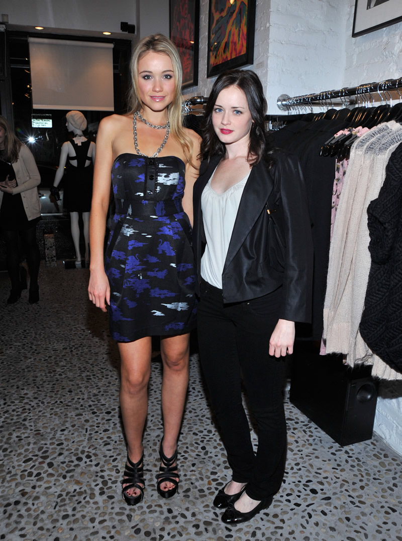 Alexis Bledel and Katrina Bowden