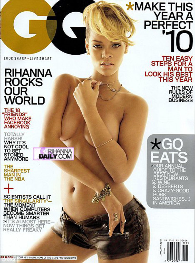 Rihanna in GQ