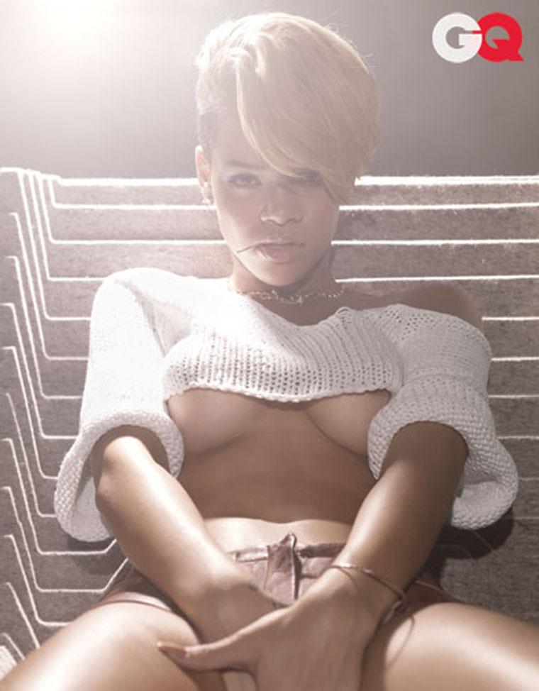 Rihanna in GQ