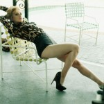 Scarlett Johansson looking leggy