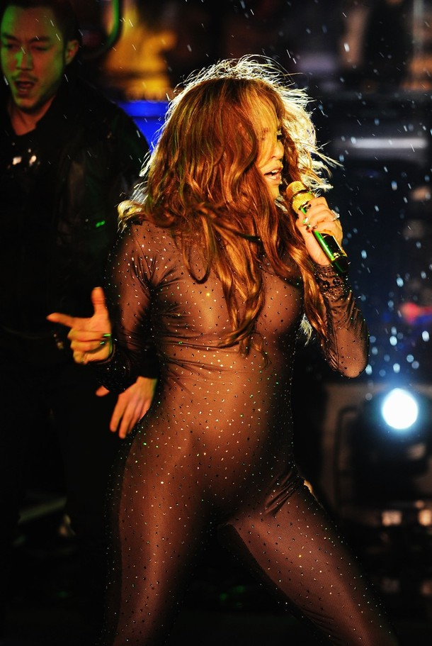 Jennifer Lopez New Year's Eve