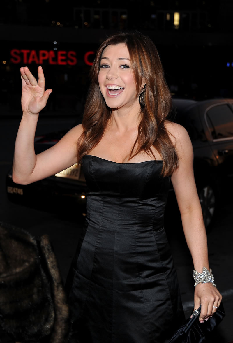 Featured image for Alyson Hannigan Won the Pie