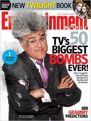 Jay Leno's Explosive Cover