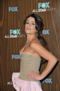 Lea Michele is pretty
