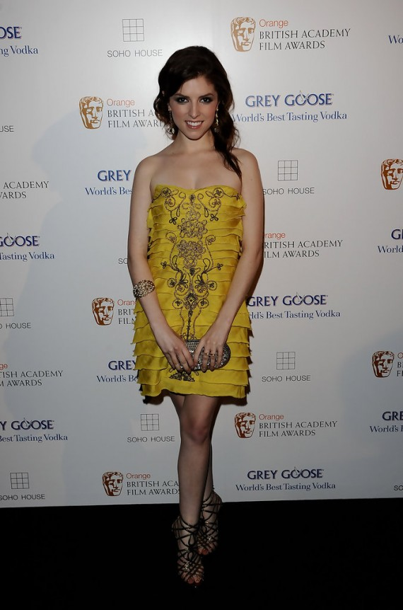 BAFTA, Grey Goose & Soho House After Party - Anna Kendrick
