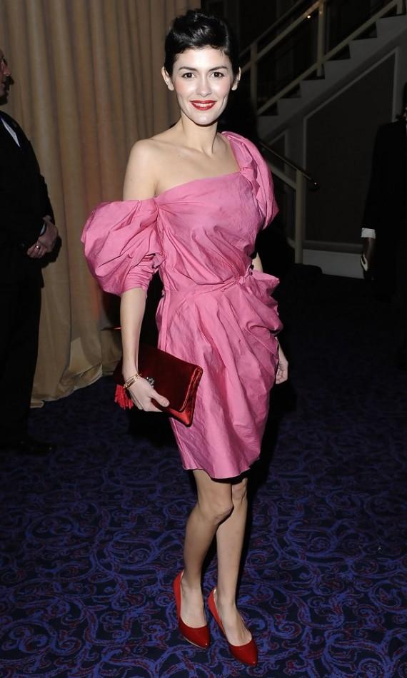 BAFTA dinner - Audrey Tautou