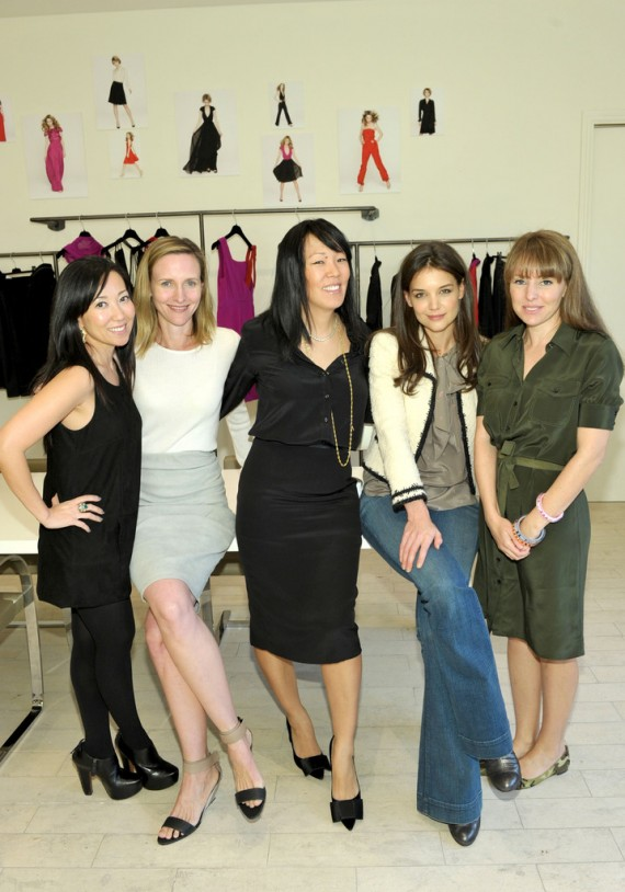 Barneys New York Hosts Designers Katie Holmes + Jeanne Yang To Preview The Fall 2010 Collection In Beverly Hills