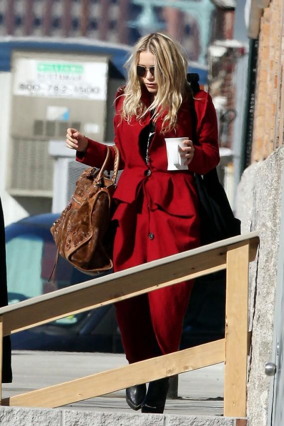 Mary Kate Olsen in New York City