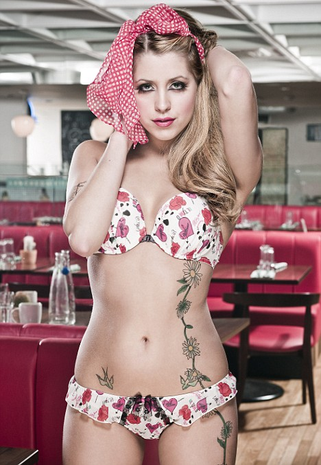 Peaches Geldof Is A Lingerie Model