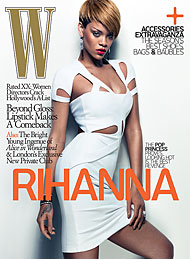 Featured image for Rihanna is W's Feb Girl