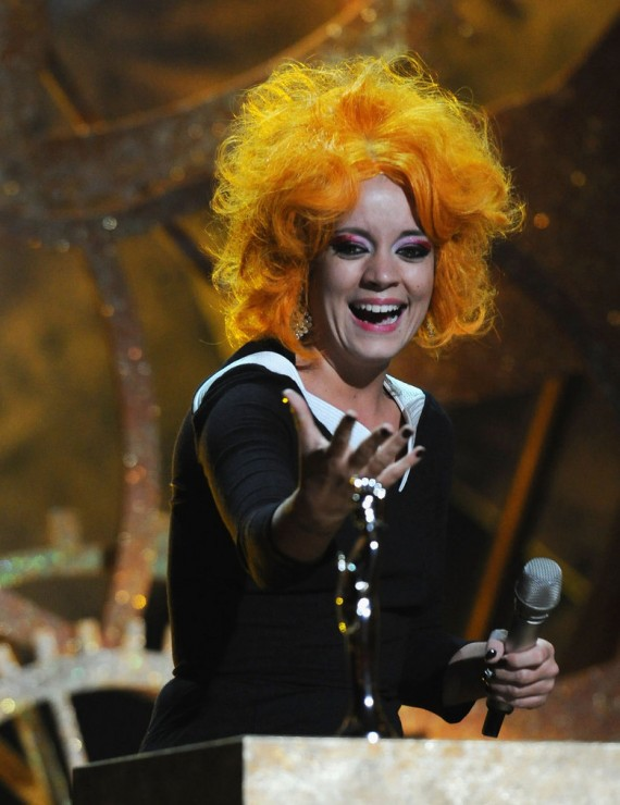 The Brit Awards - Lily Allen (2)