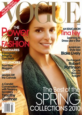 Tina Fey Bags Vogue Cover