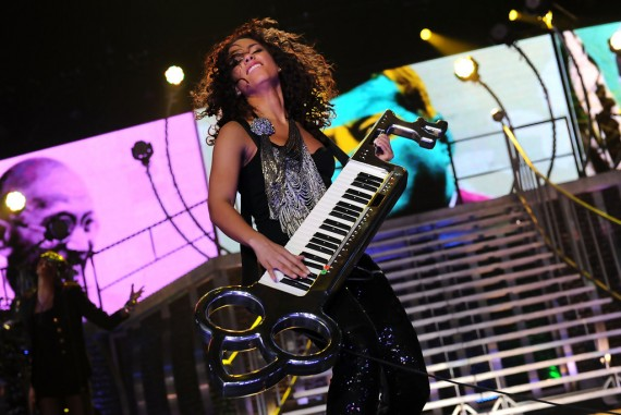 Alicia Keys In Concert