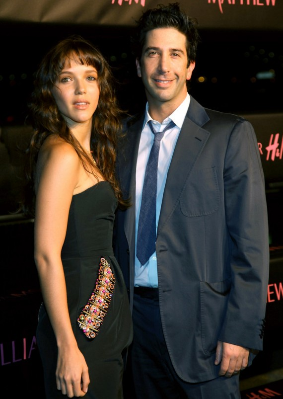 H&M Matthew Williamson Spring 2009 Collection Launch Party David Schwimmer and Zoe Buckman