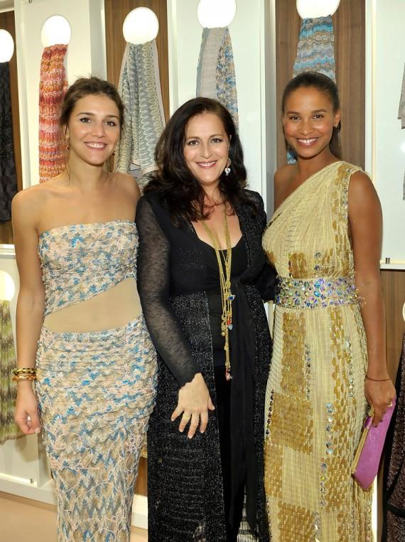 Missoni Celebrates the Opening of the Beverly Hills Missoni Boutique - Margherita Missoni, Angela Missoni, and Joy Bryant