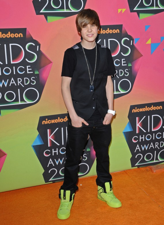 Nickelodeon Kids' Choice Awards 2010 Justin Bieber