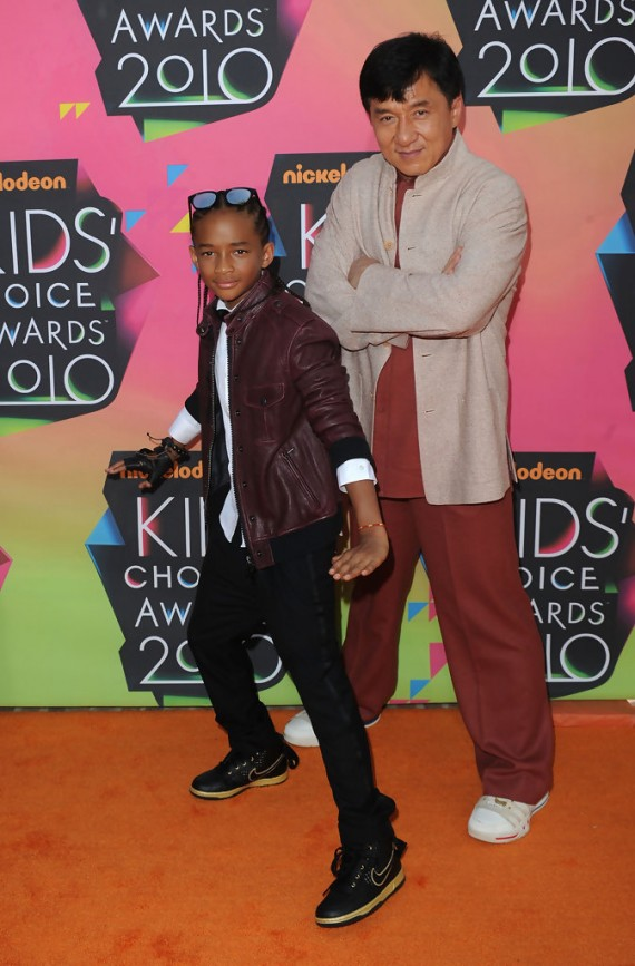 Nickelodeon's 23rd Annual Kids' Choice Awards Jackie Chan and Jaden Smith