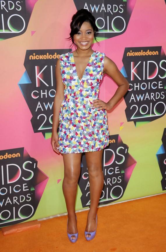 Nickelodeon's 23rd Annual Kids' Choice Awards Keke Palmer