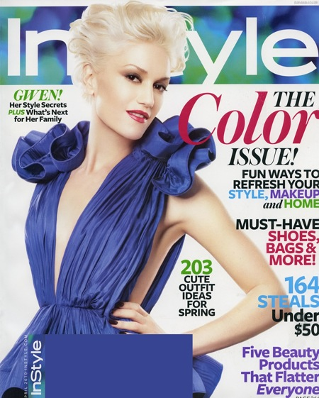 Gwen Stefani Covers InStyle