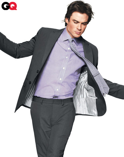 Featured image for Ian Somerhalder Does GQ