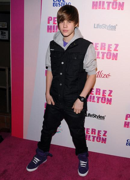 Justin Bieber on Perez Hilton's Carn-Evil