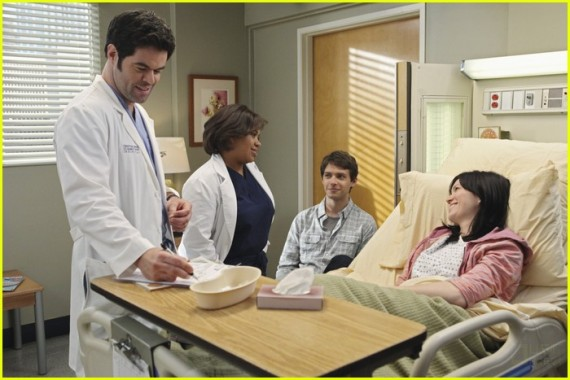 Mandy Moore on Grey's Anatomy