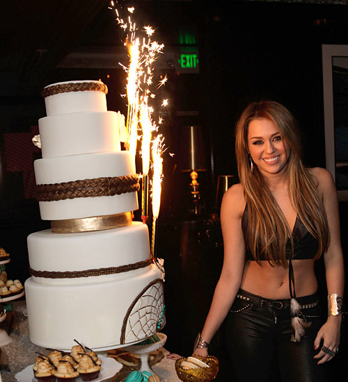 Miley Cyrus 18th birthday