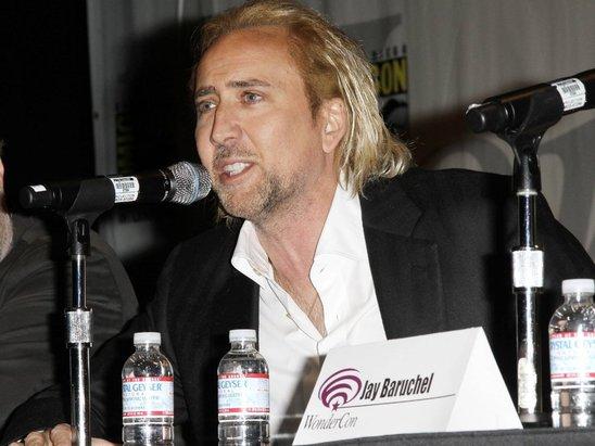 Nicolas Cage Blonde Hair