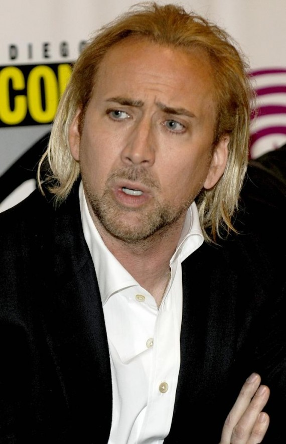 Nicolas Cage Blonde Hair