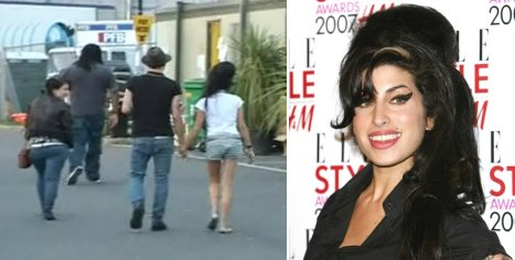 Amy Winehouse Blake Fielder Civil Rekindle Relationship