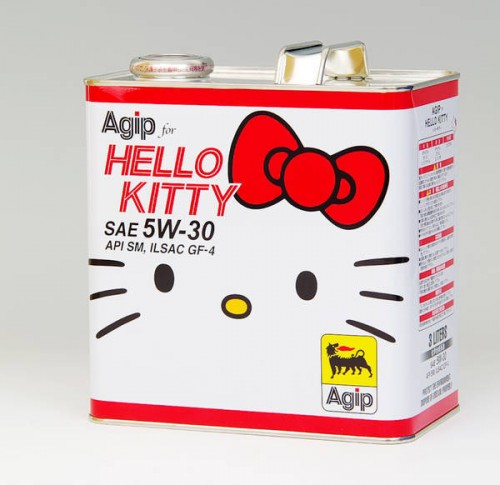 Hello Kitty Motor Oil