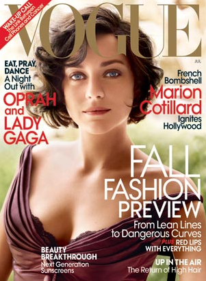 Marion Cotillard - Vogue Cover