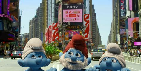 Smurfs Movie Still