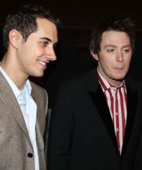 Clay Aiken and Kelly Reed