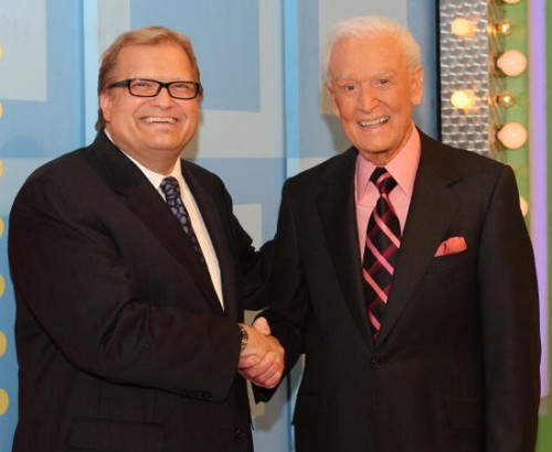 Bob Barker and Drew Carey On Price Is Right