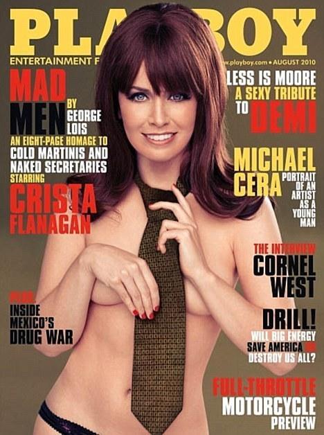 Crista Flanagan - Playboy Cover