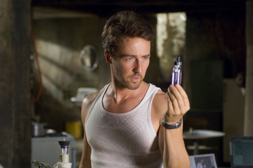 Edward Norton - Incredible Hulk Movie Still