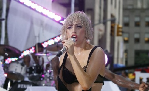 Lady Gaga - Today Show Performance