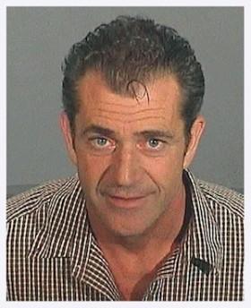 Mel Gibson Mugshot