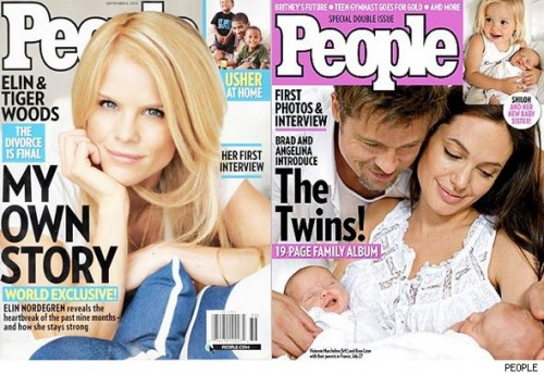 "Elin Nordegren ""People Magazine"" Issue Sells 2 Million Copies"