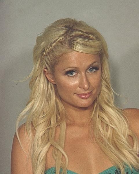Paris Hilton Mugshot