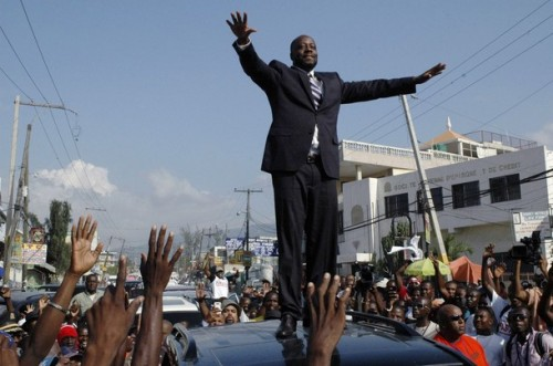Wyclef in Haiti